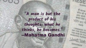 Ghandhi quote