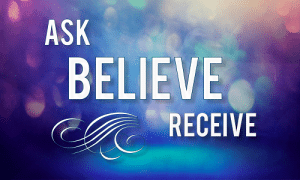 ask believe receive 3