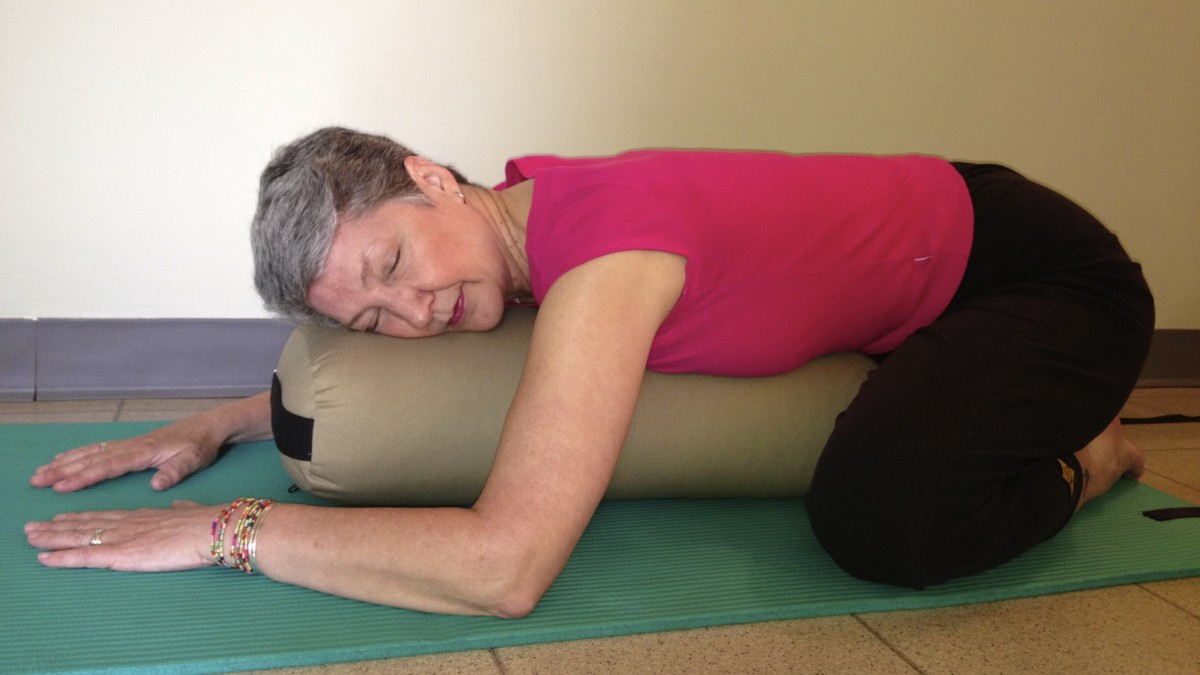 Restorative Yoga Poses With Pillow