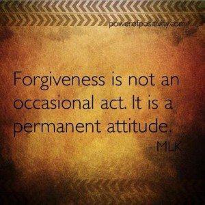 forgiveness MLK