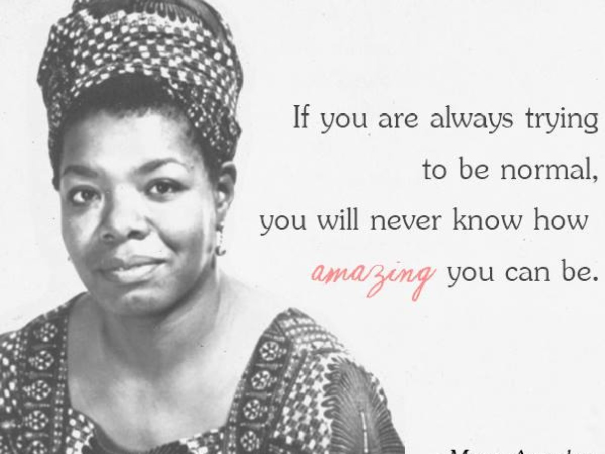 25 Best Maya Angelou Quotes : A Tribute to Maya Angelou »