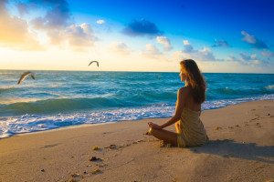 meditation-morning-beach