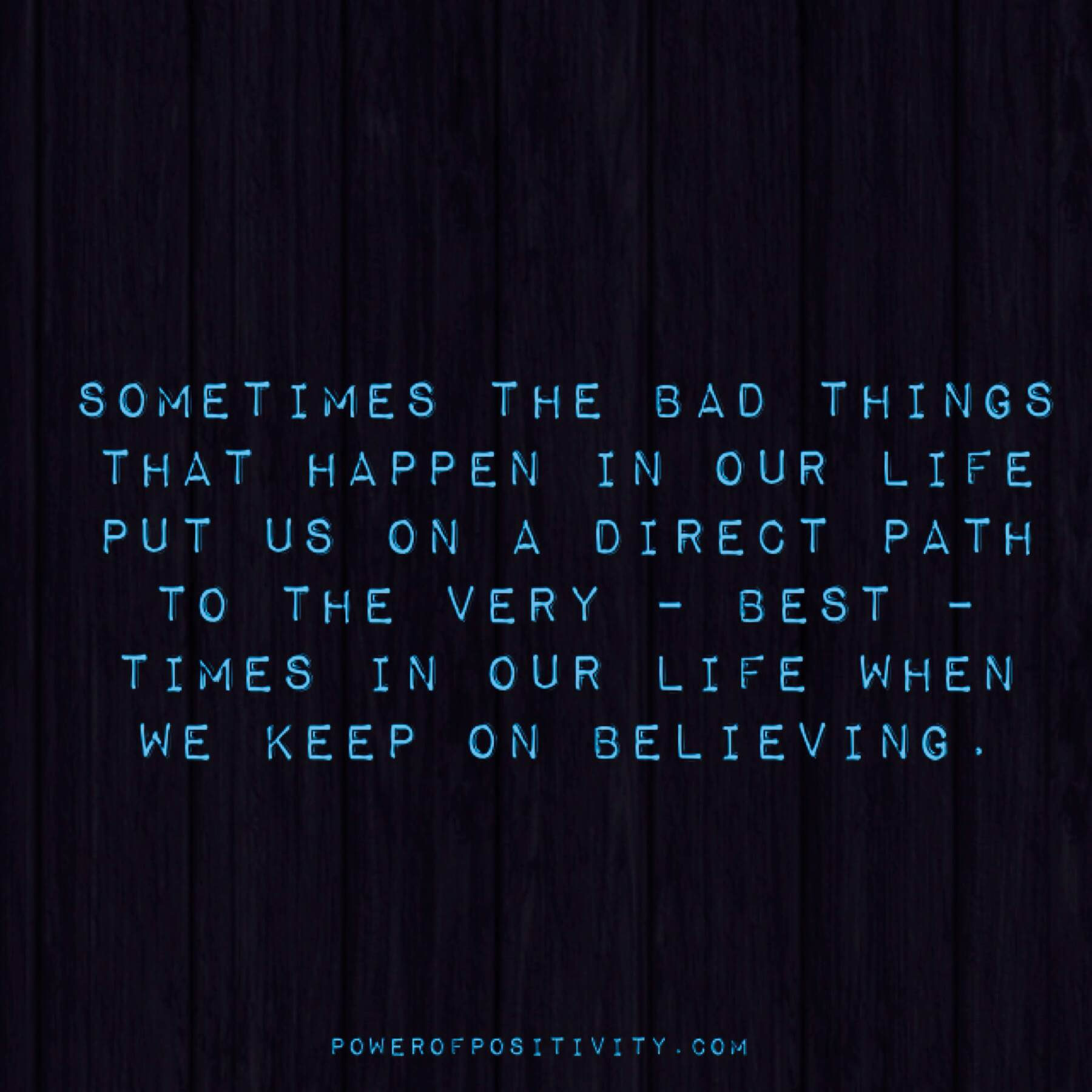 Bad Things Happen Quotes: Sometimes The Bad Things That Happen In Our Life