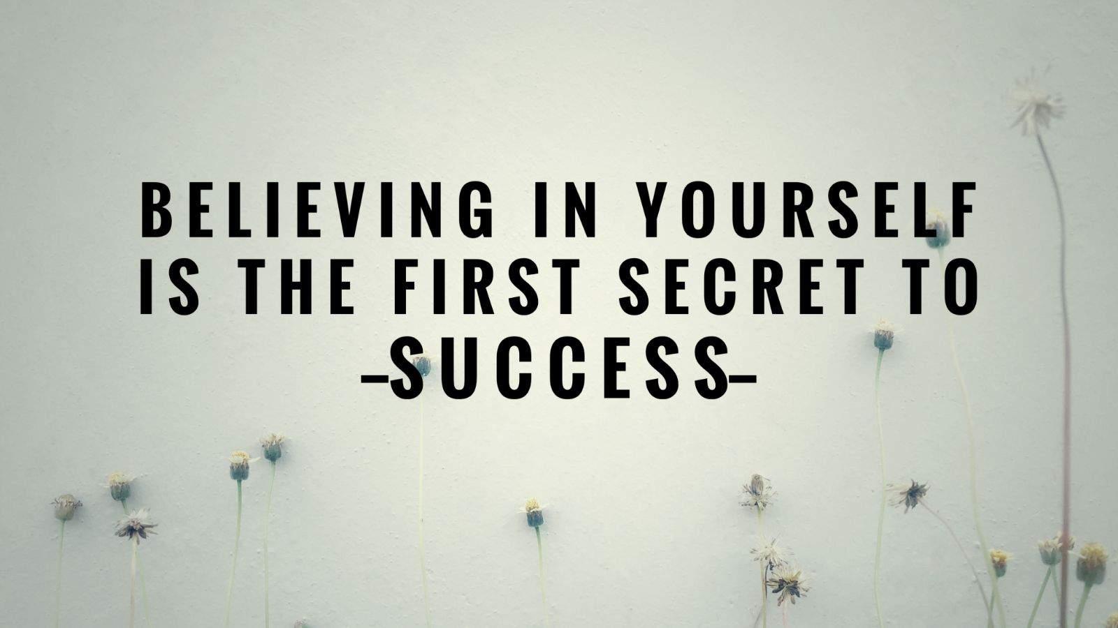 self confidence success meme