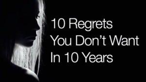 avoid regret for happy lid=fe