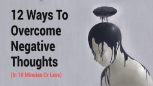 Replace negative thoughts - resolution