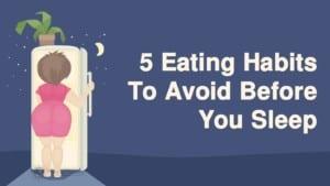 poor eating habits - self care