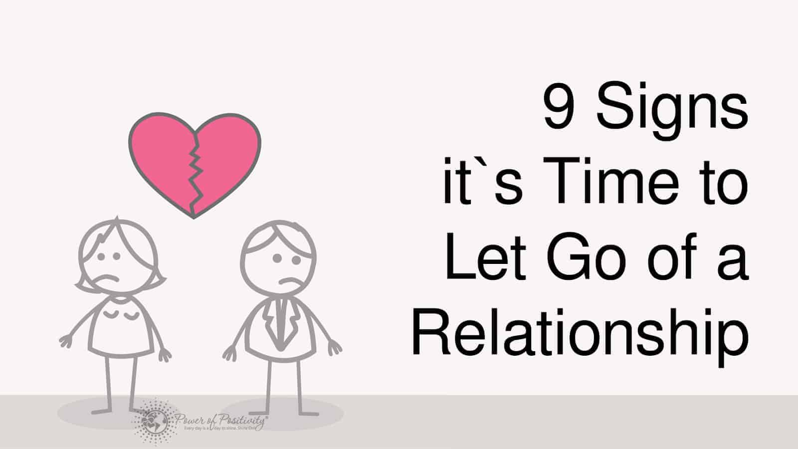 Quotes About Trust And Love In Relationships 9 Signs It's Time To End A Relationship And Let Go