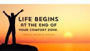 Happiness - comfort zone