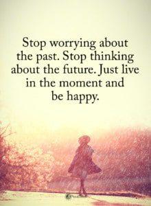 Stop comparison - Think positive