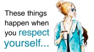 Respect yourself - ego
