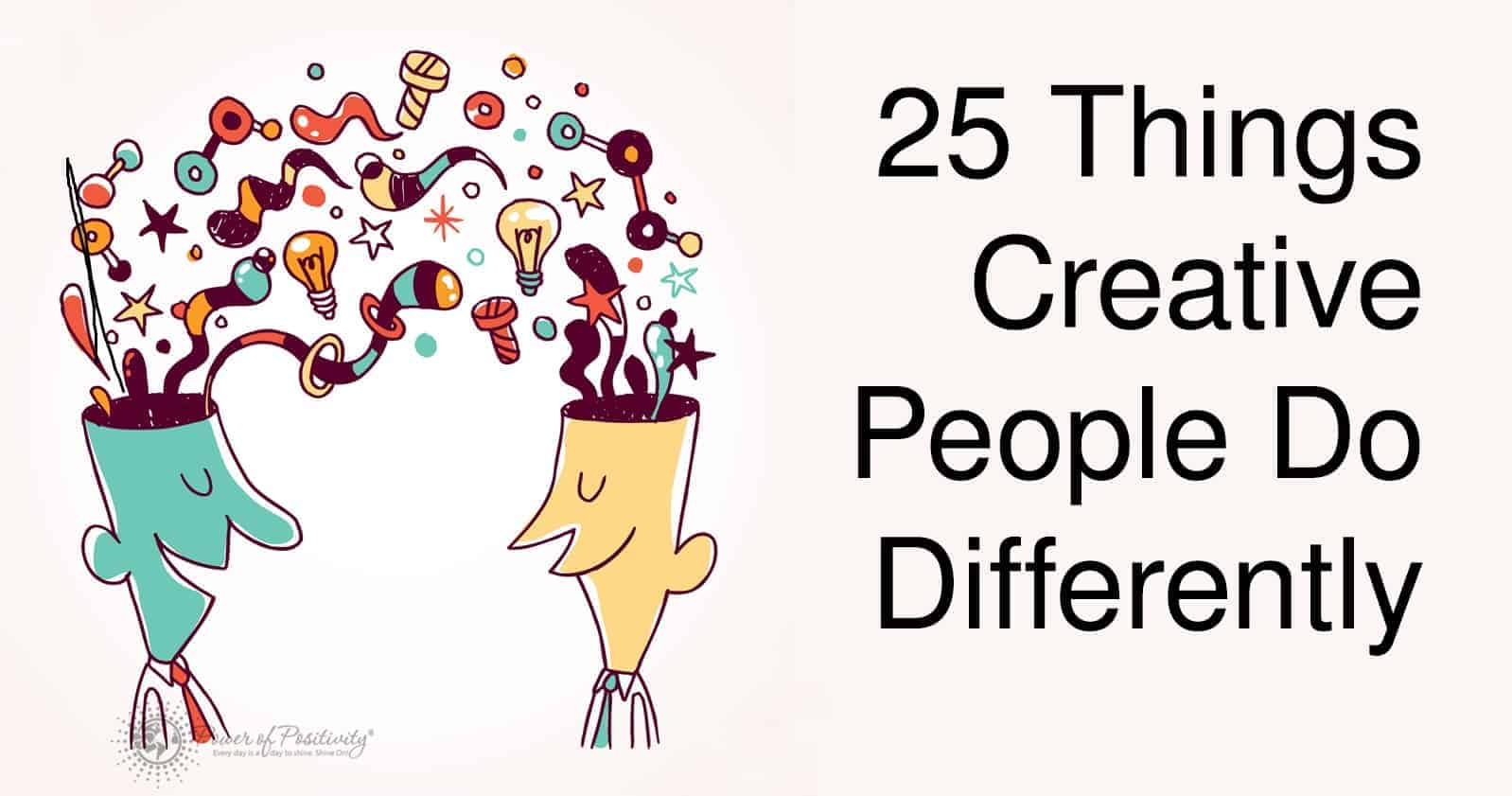 creative people