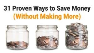 save money - no excuses