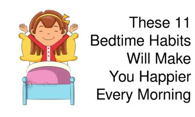 bedtime habits