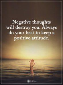 negativity thoughts destroy your soul