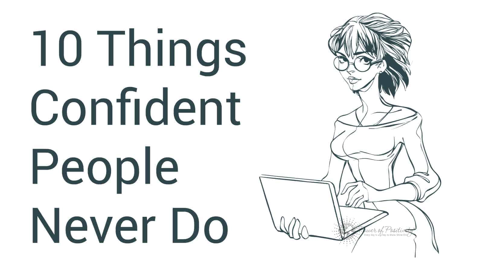 confident people