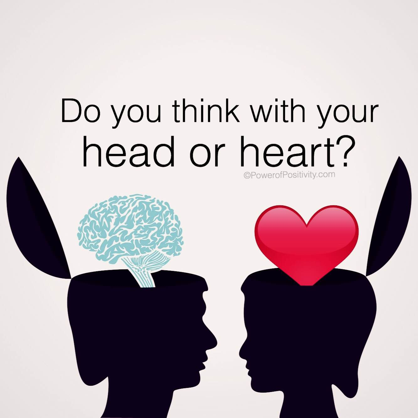 Image result for think with your heart