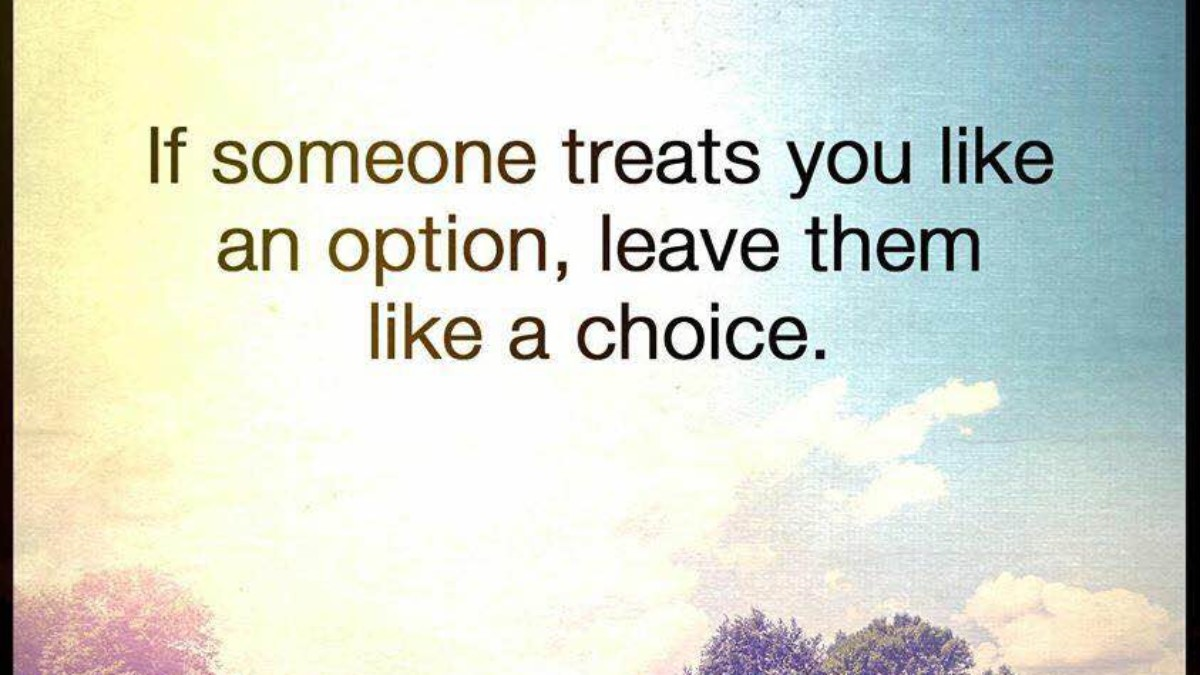 For a in less relationship not do settle Never Settle