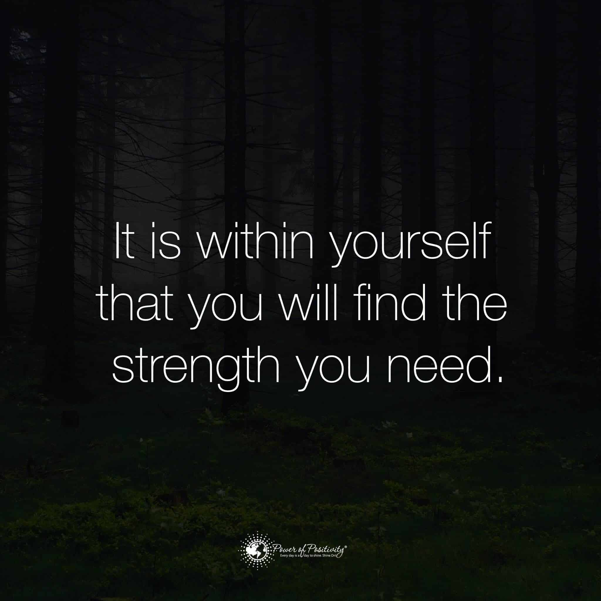 Strength Quotes: 10 Ways To Build Inner Strength