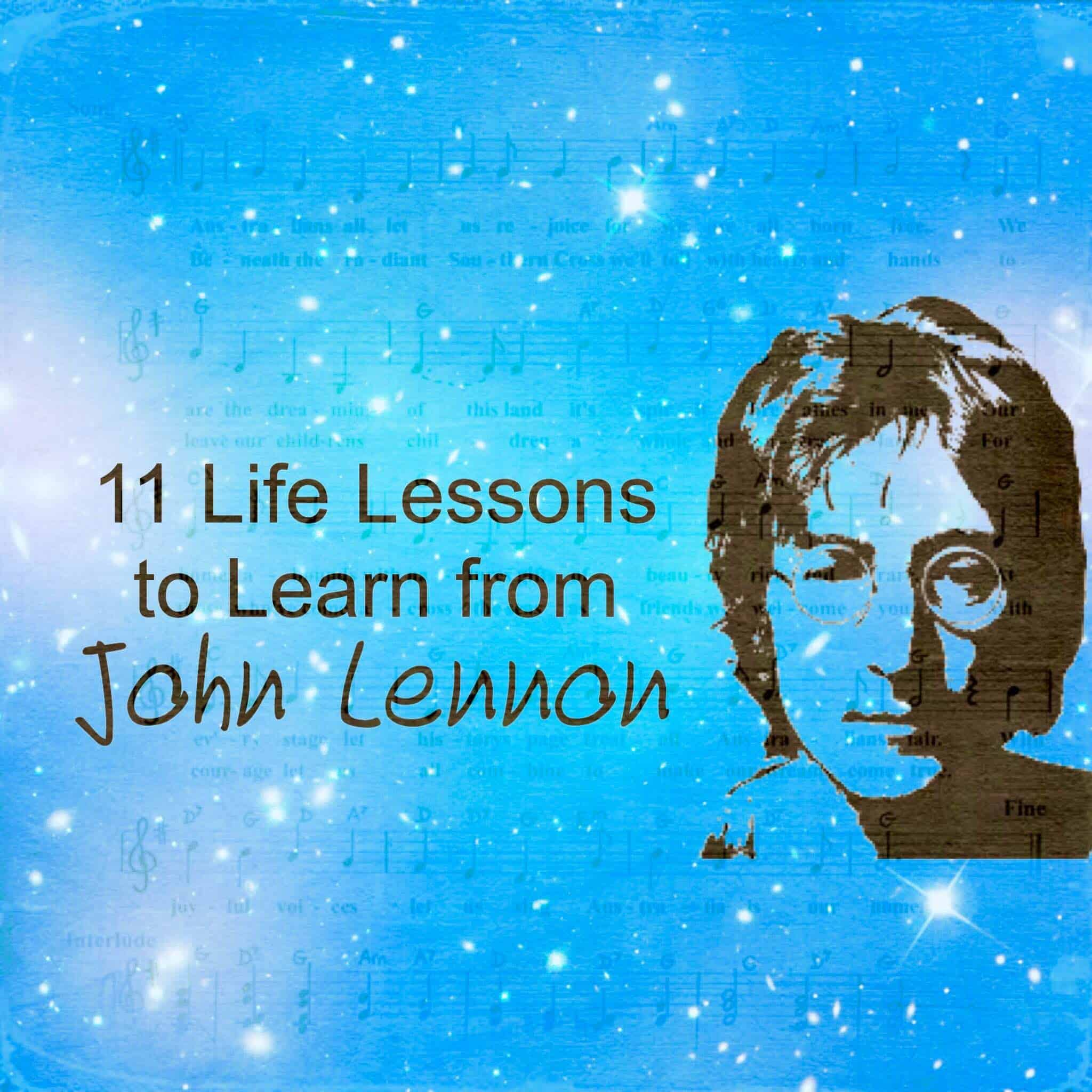11 Life Lessons To Learn From John Lennon