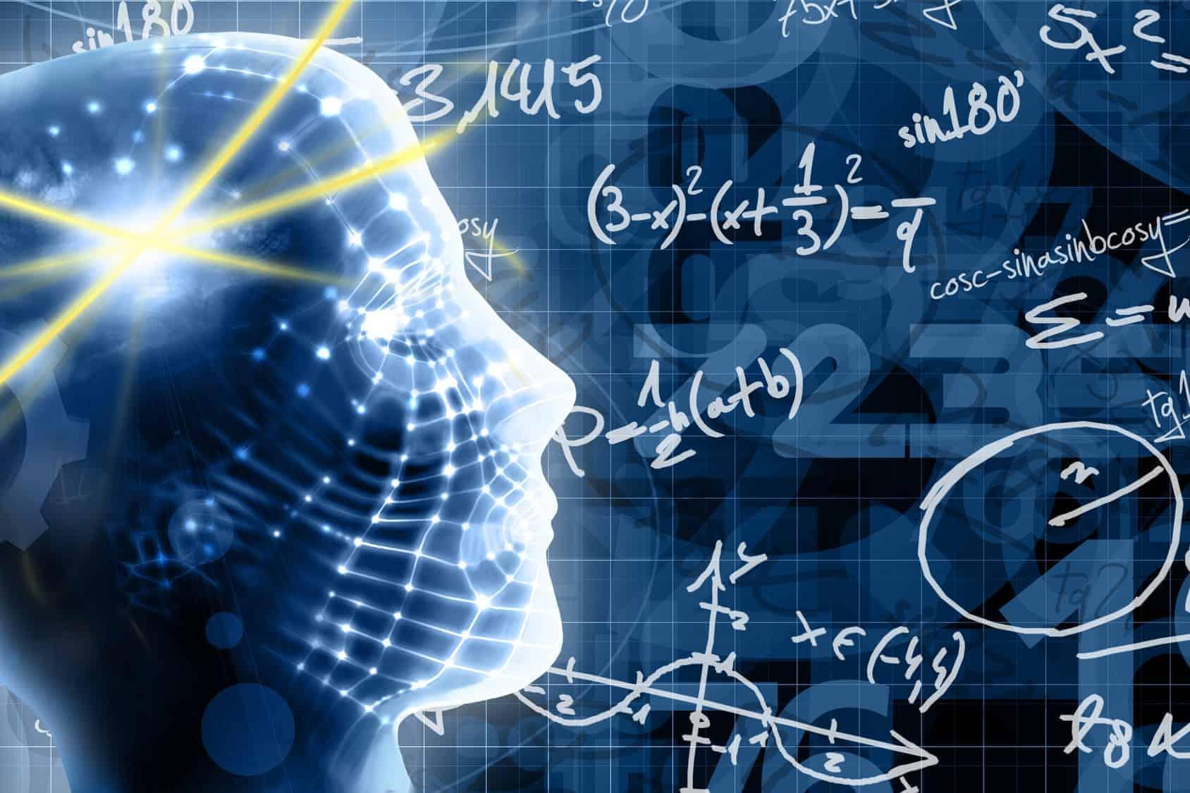 brain thinking equations