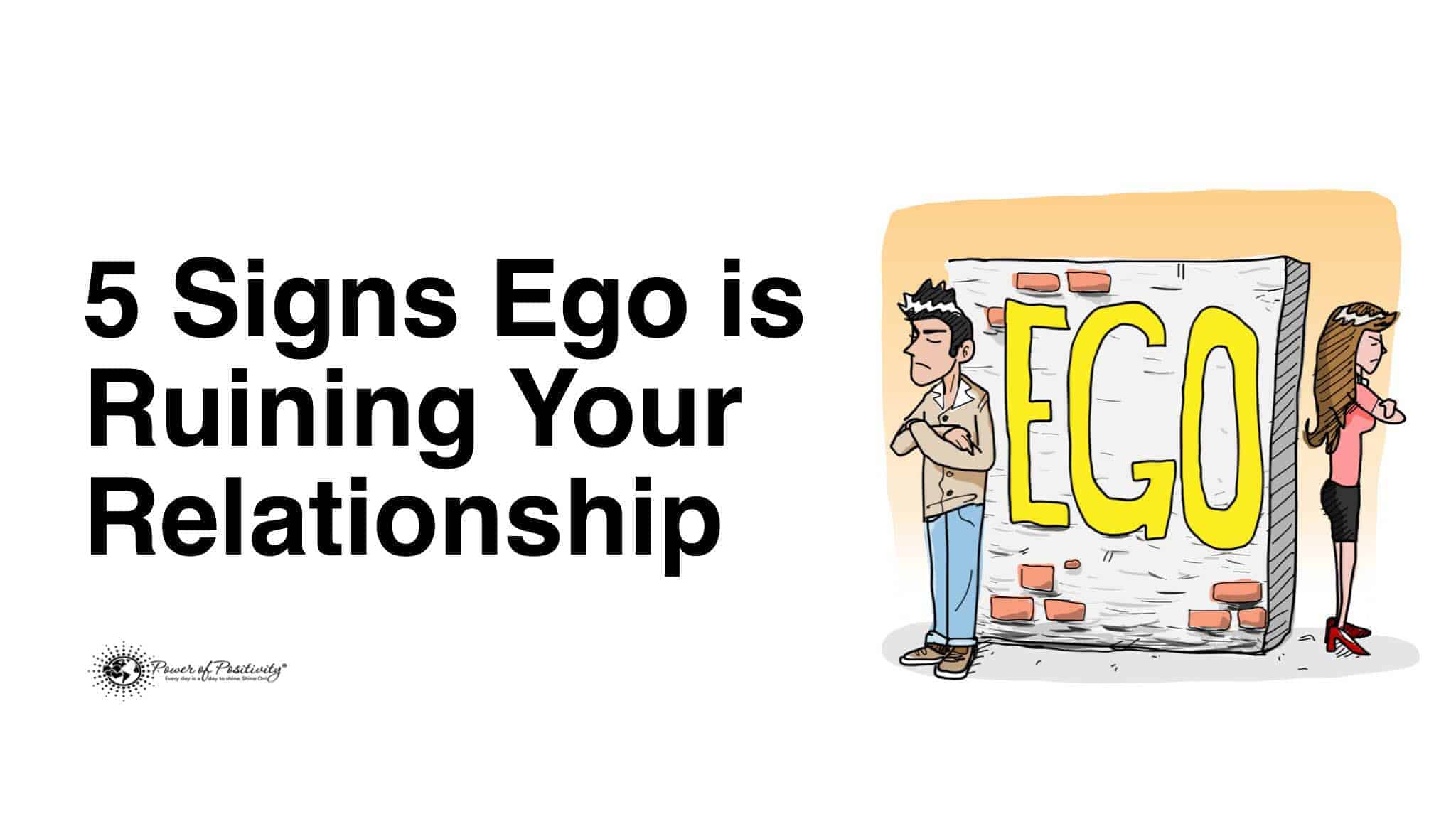 Egotistical men relationships