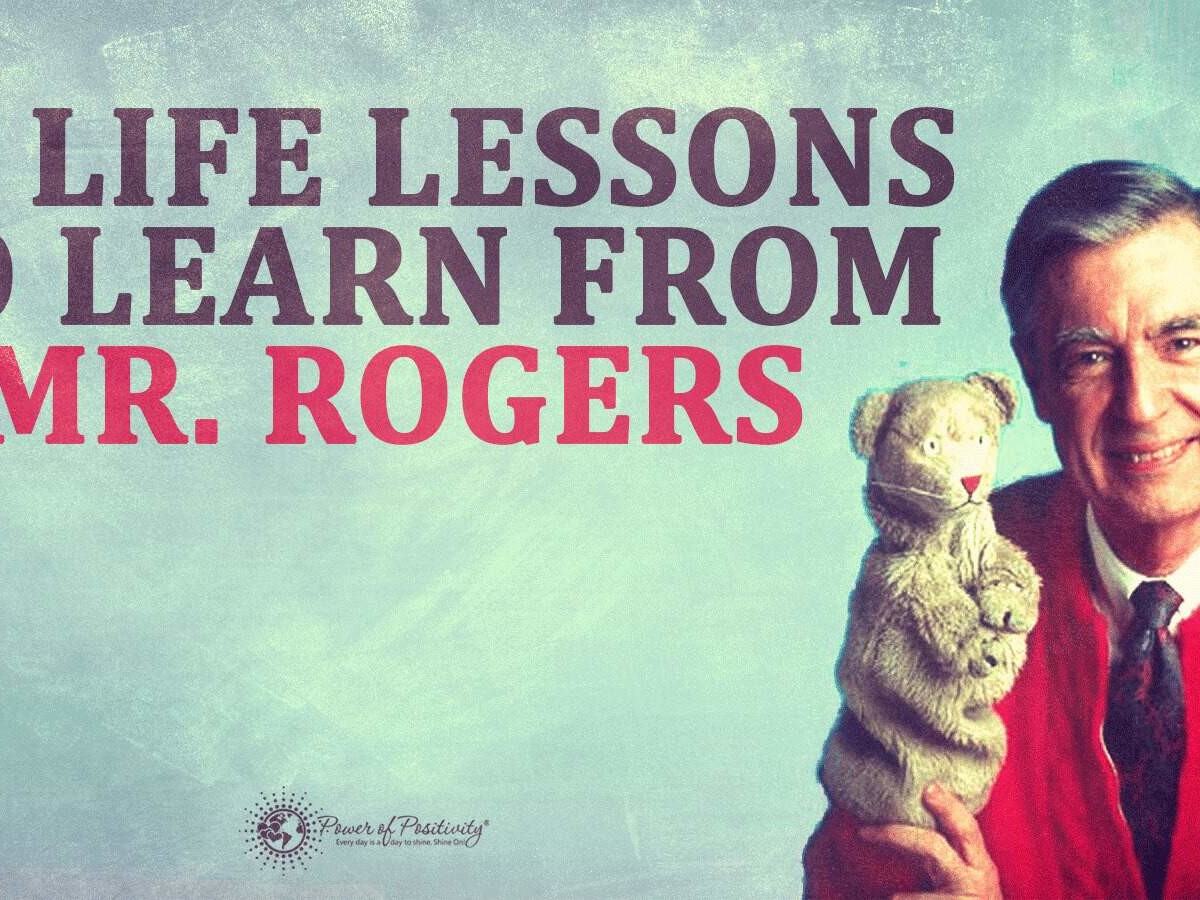 11 Life Lessons To Learn From Mister Rogers