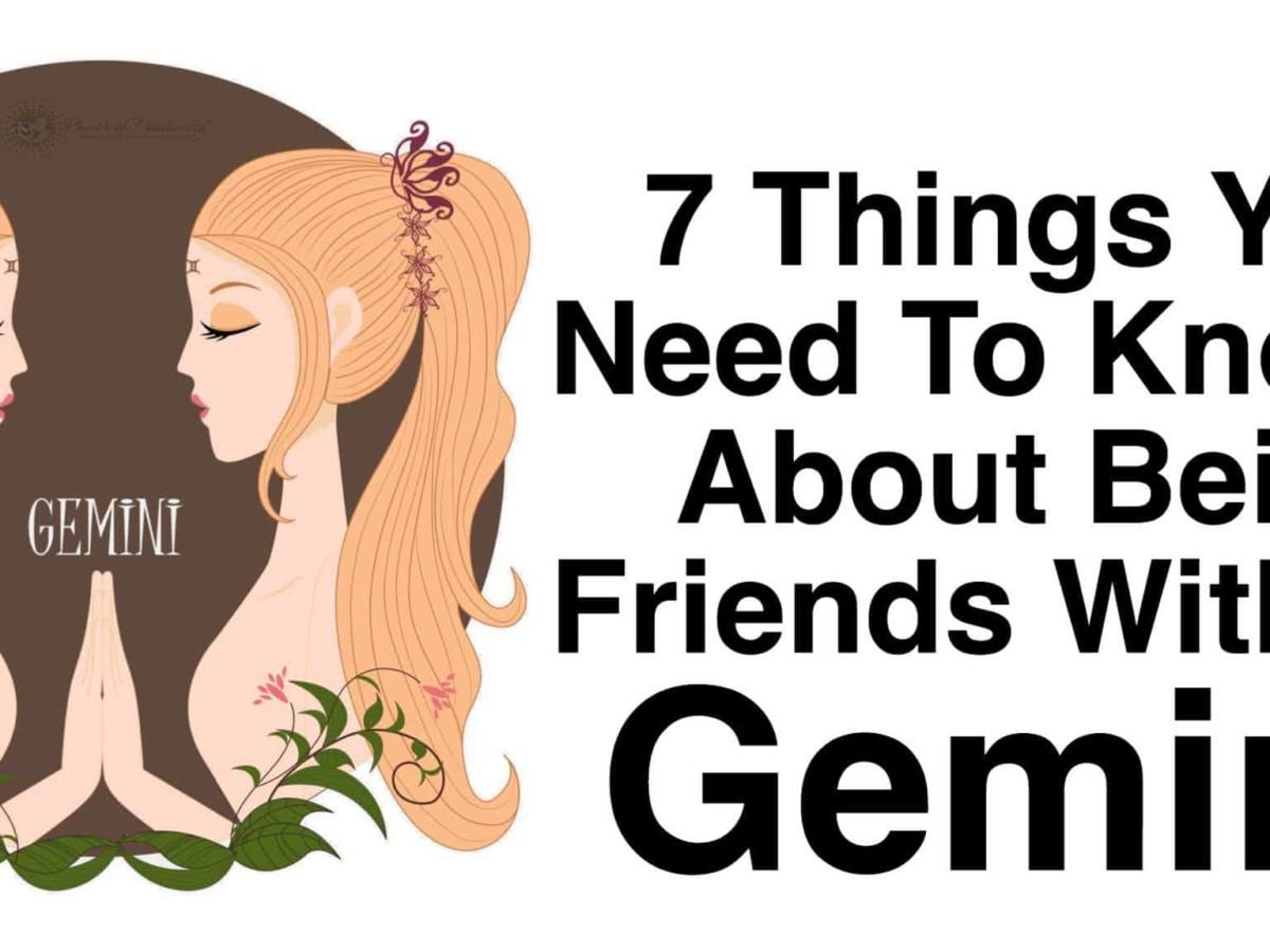Aries And Gemini Friendship