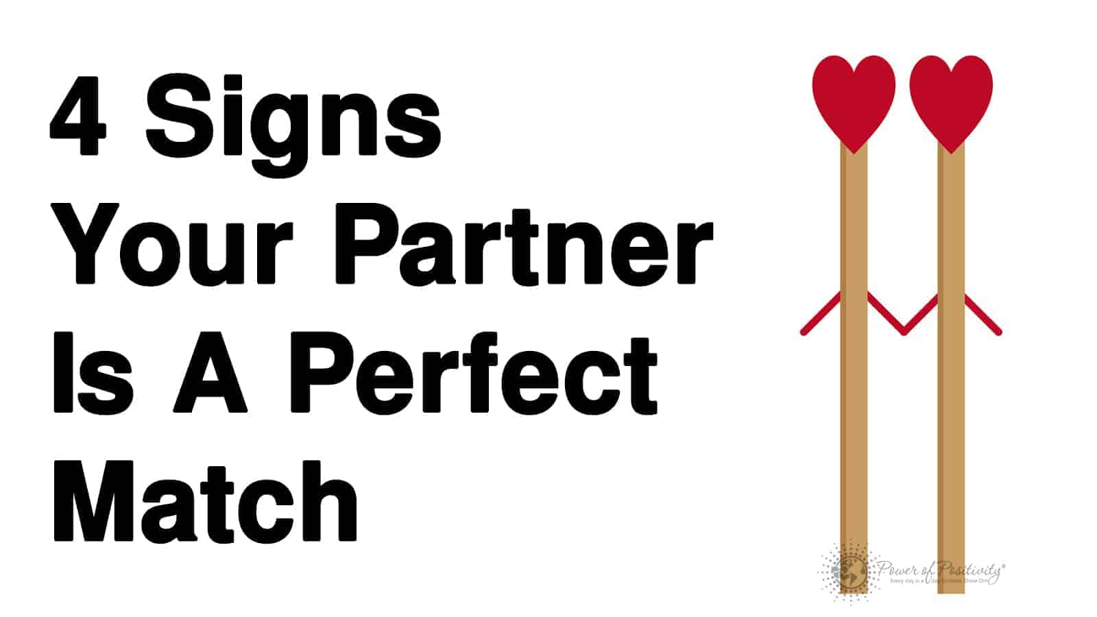 signs your partner is a perfect match