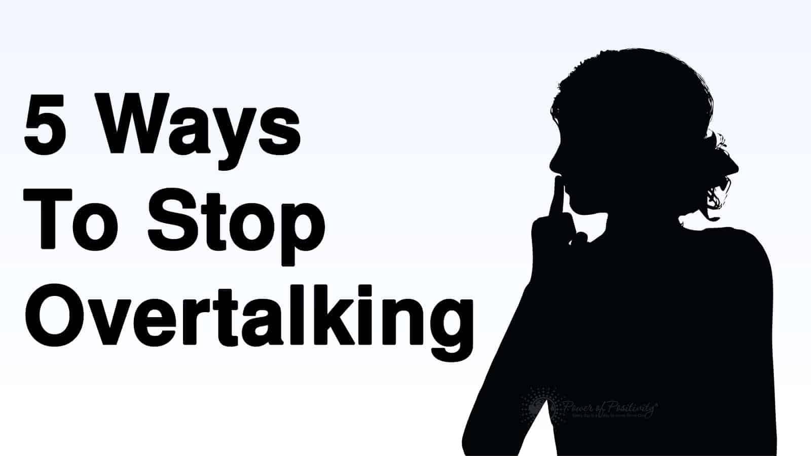 ways to stop