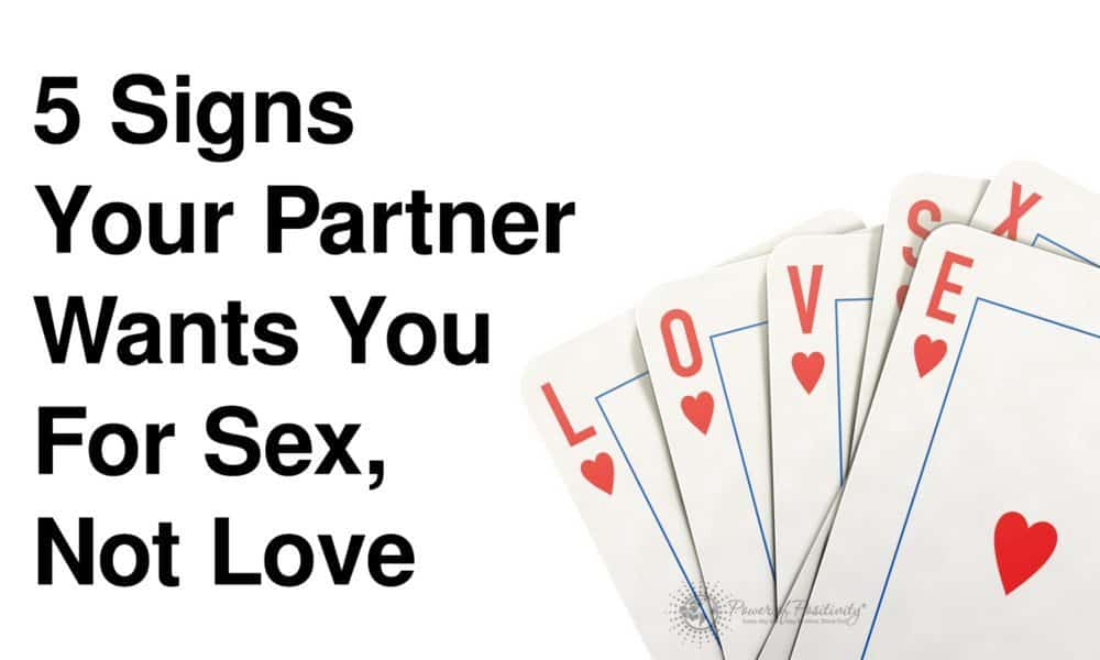 signs partner wants love