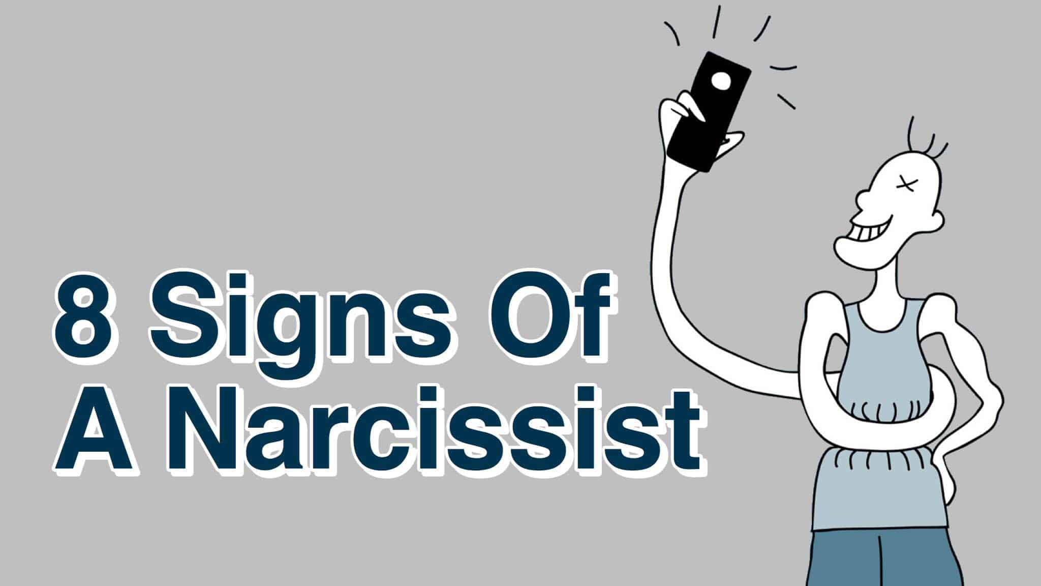 8 Signs Of A Narcissist