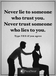phrases of a liar