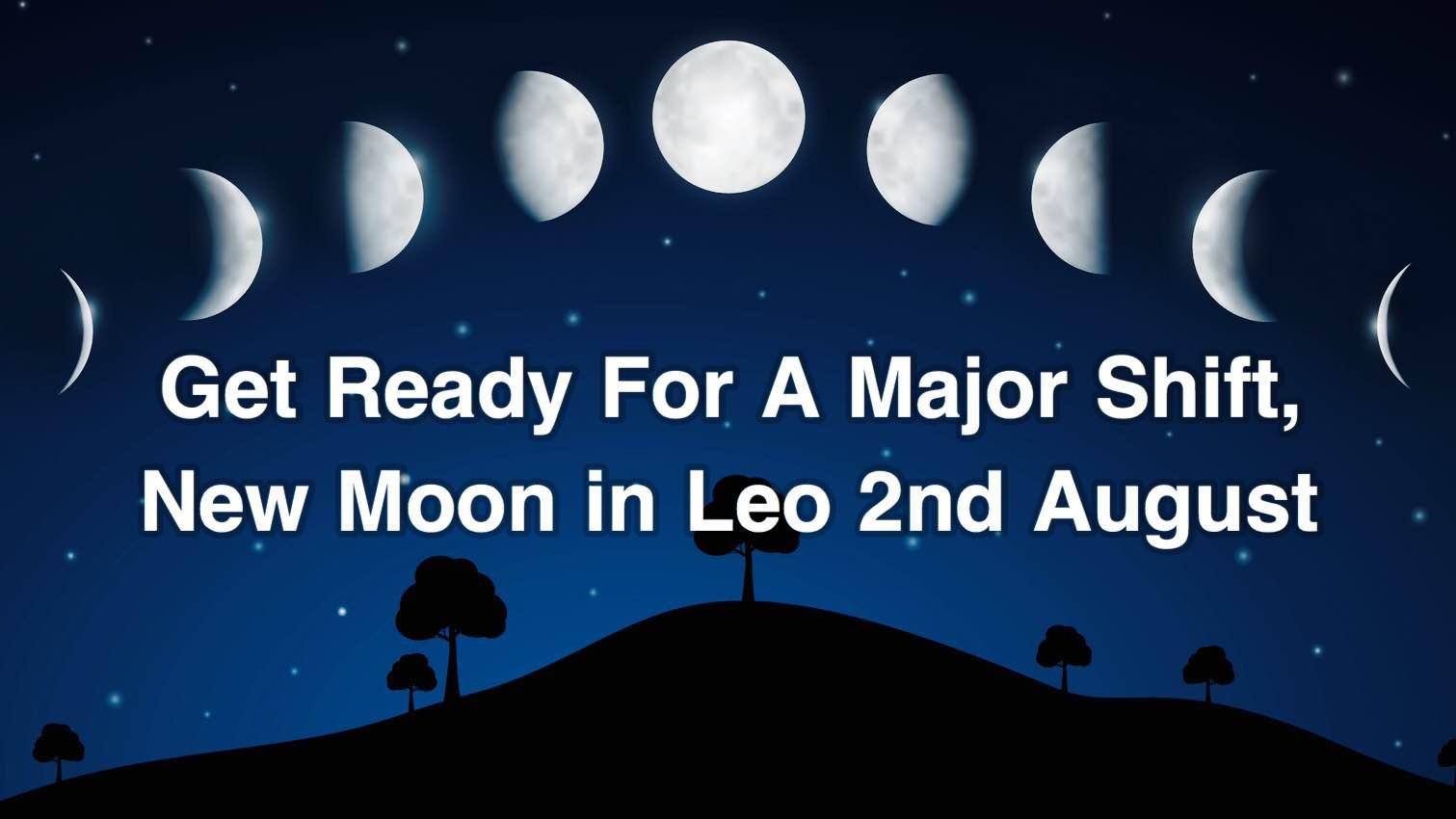 new moon leo