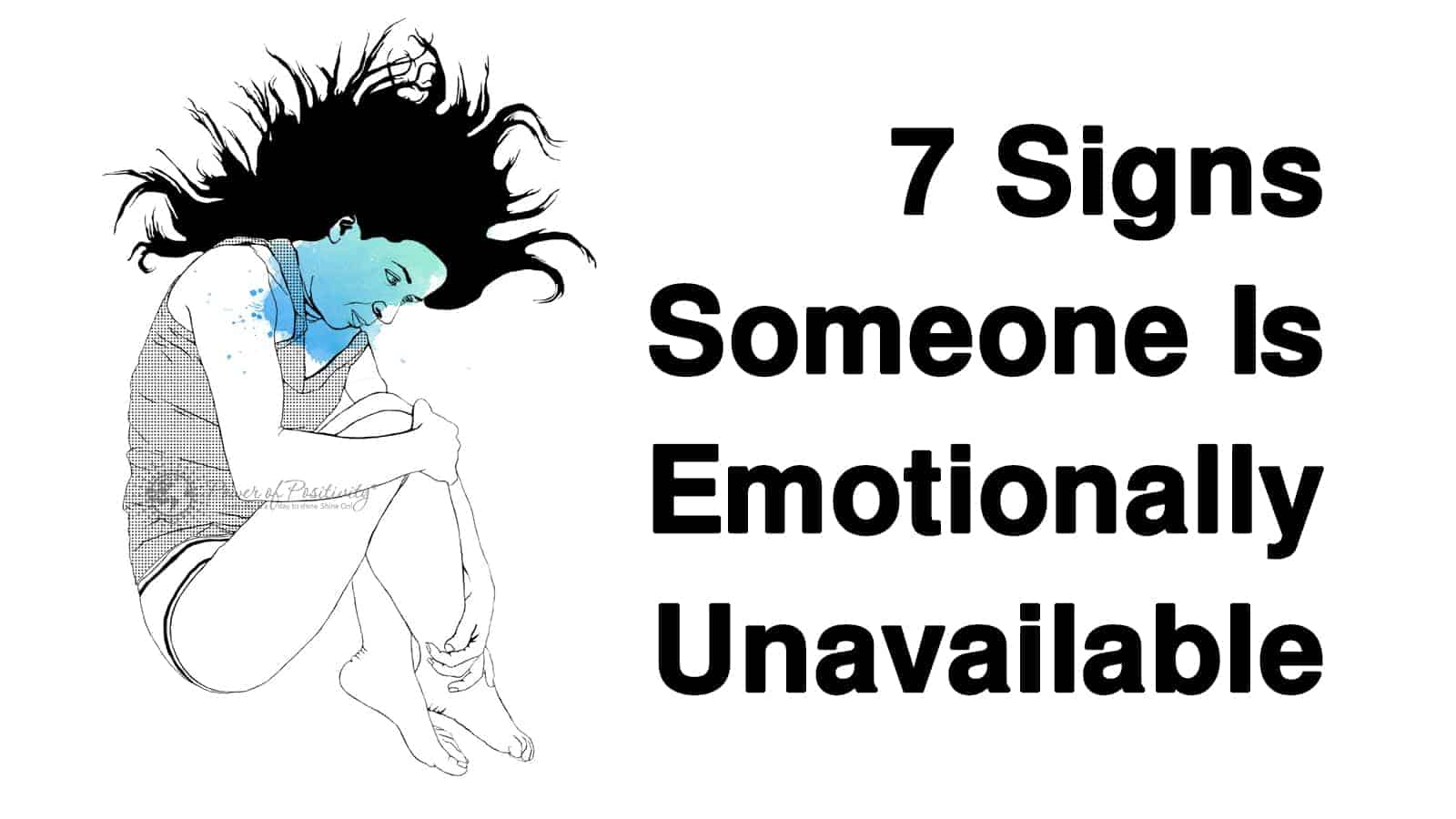 How do you know if you are emotionally unavailable