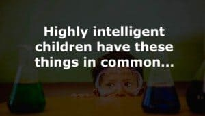 intelligent children