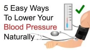 raised blood pressure - crossing your legs