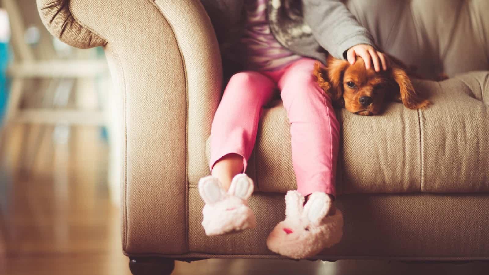 Sleep with dog
