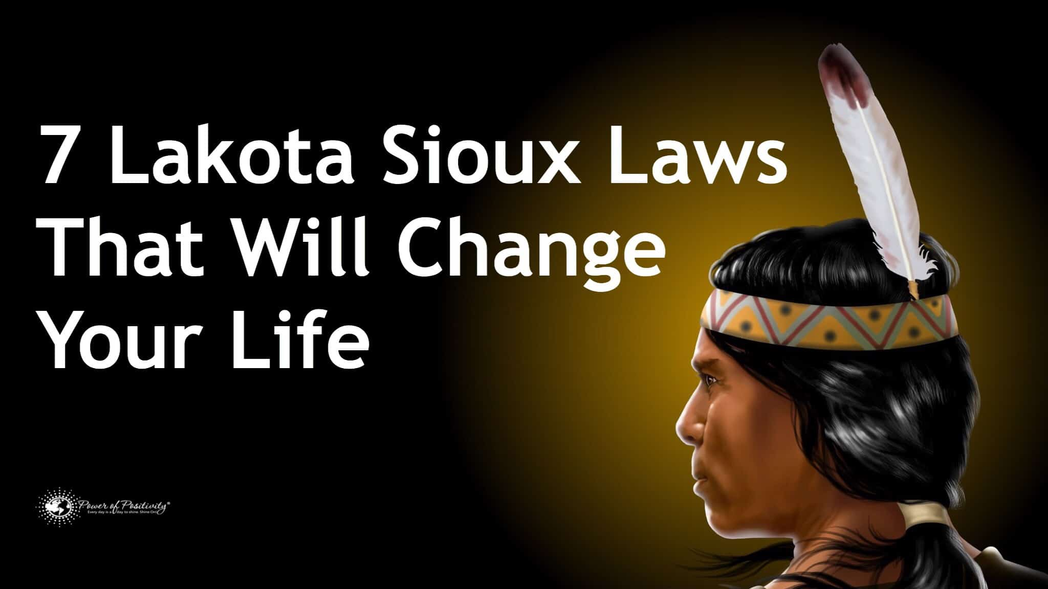 sioux laws