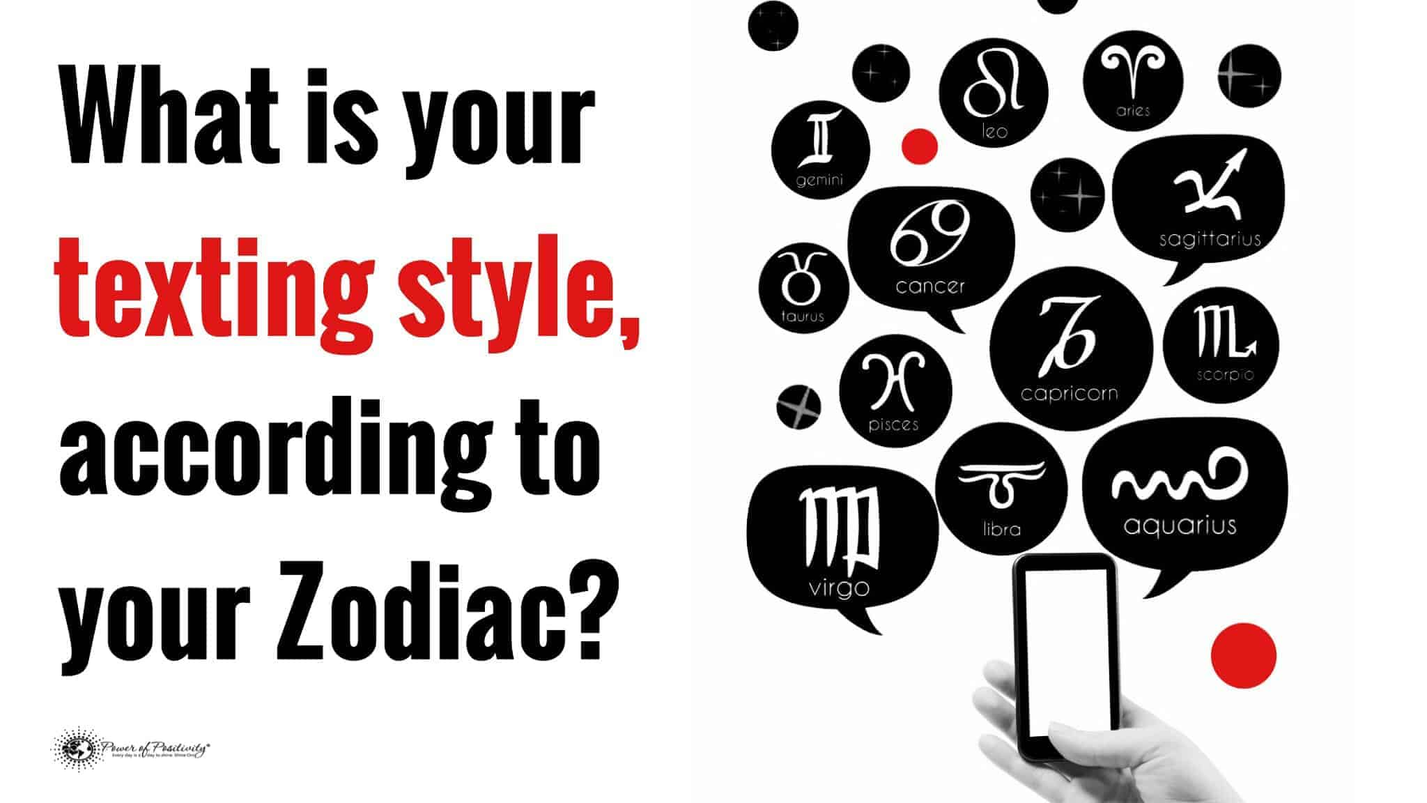 What is your texting style according to your zodiac sign for How do you find your zodiac sign