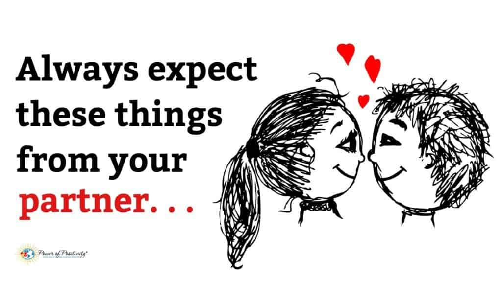 6 Things You Should Always Expect From Your Partner