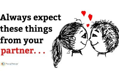 things to expect from your partner