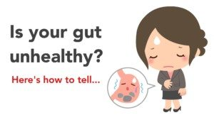 unhealthy gut