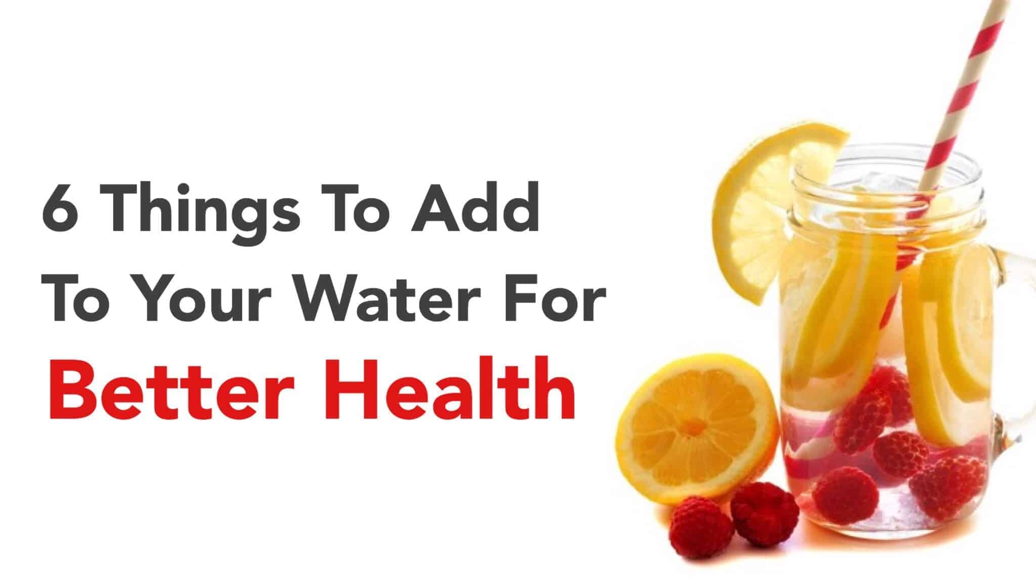 water health