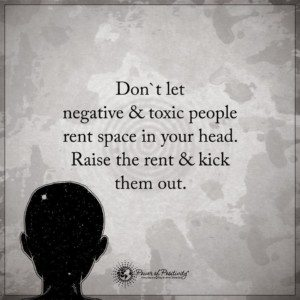 toxic people negative thoughts