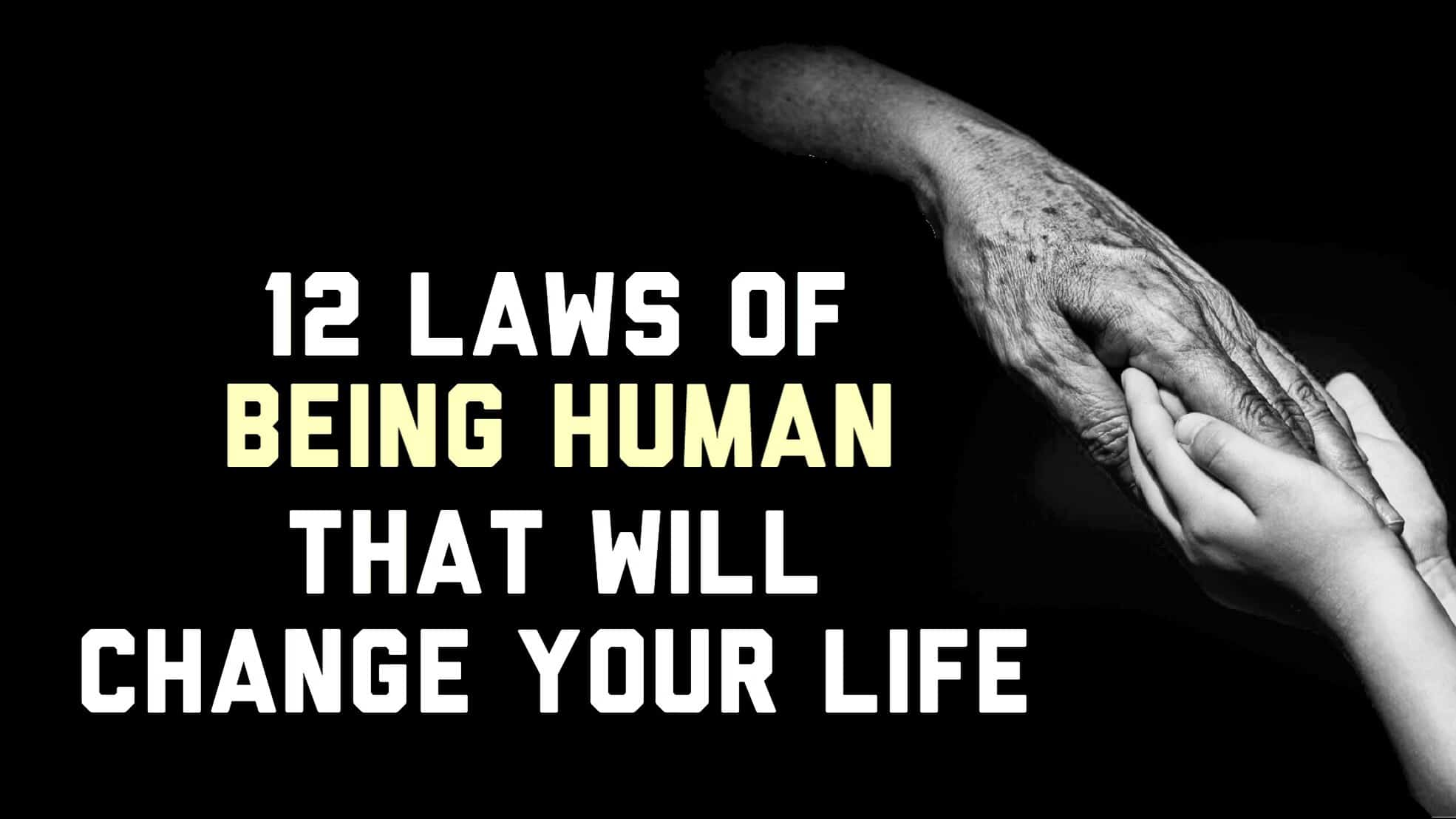 laws of being human