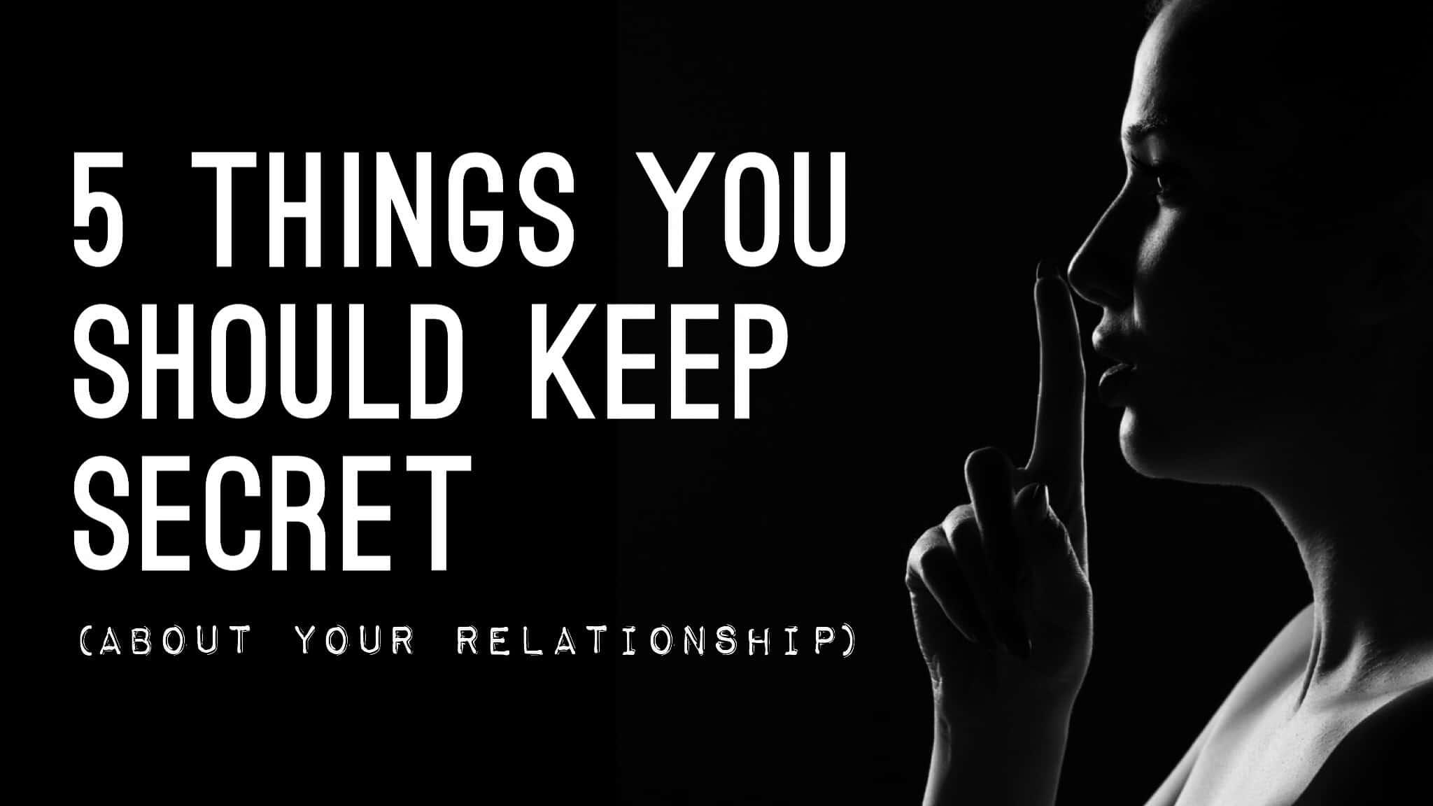 relationship secrets