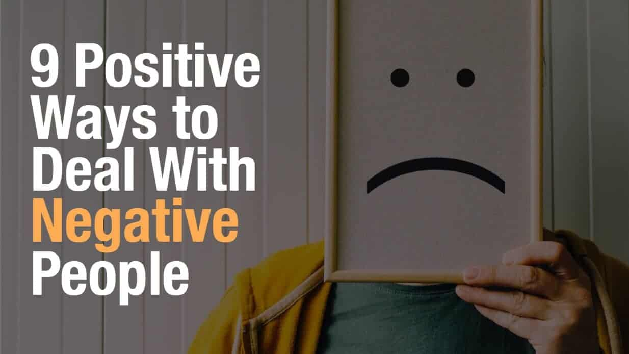 How to Deal With Negative People