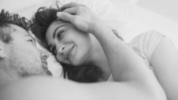 woman cuddle