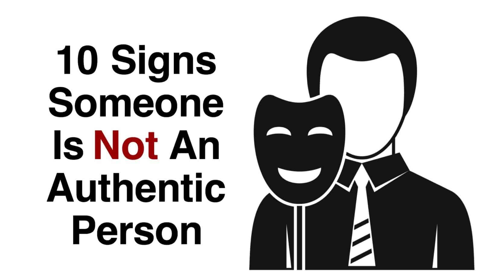 authentic person